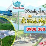 Vietnam Airlines vé tết đi Vinh bao nhiêu tiền ?