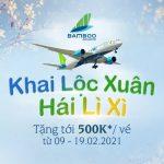 Khai Lộc Xuân – Hái Lì Xì – Bamboo Airways