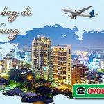 Đặt vé máy bay đi Đài Trung (RMQ) Đài Loan tại Huế