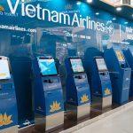 Vietnam Airlines triển khai dịch vụ kiosk check-in tại sân bay Cát Bi (Hải Phòng)