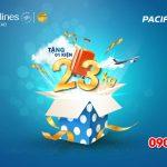 Tặng kiện hành lý trên các chuyến bay của Vietnam Airlines và Pacific Airlines