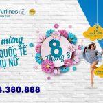 Vietnam Airlines ưu đãi nhân ngày Quốc tế phụ nữ 8/3