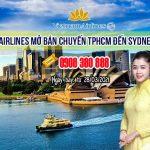 Vietnam Airlines mở bán chuyến TPHCM đến Sydney nước Úc