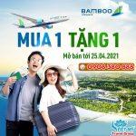 Ưu đãi vé Bamboo Airways – mua 1 tặng 1