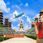 Ở Hà Tỉnh đặt vé máy bay đi Cao Hùng (KHH) Đài Loan được không?