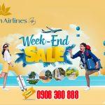 Cơ hội mua vé máy bay ưu đãi đến 40% dịp cuối tuần