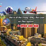 Đặt vé máy bay đi Đài Trung (RMQ) Đài Loan tại Thái Nguyên