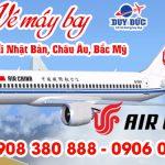 Air Chinaưu đãi đi vé đi Nhật Bản, Châu Âu, Bắc Mỹ 400 USD