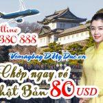 Chớp ngay vé Vietnam Airlinesđi Nhật Bản 390 USD