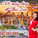 Giá vé máy bay đi Thái Lan tháng 6
