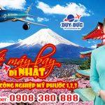 Vé máy bay đi Nhật tại khu công nghiệp Mỹ Phước 1,2,3 – Việt Mỹ