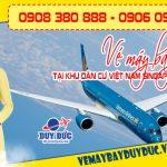 Vé máy bay tại khu dân cư Việt Nam Singapore Bình Dương – Việt Mỹ