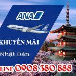 ANA khuyến mãi vé máy bay đi Nhật 300 USD