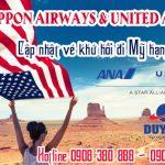 ANA và United cập nhật vé khứ hồi đi Mỹ hạng thương gia