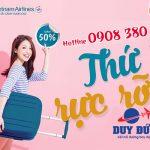 Thứ 5 rực rỡ săn vé nội địa Vietnam Airlines giảm giá 50%