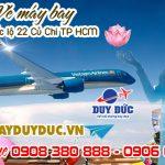 Vé máy bay đường quốc lộ 22 Củ Chi TP Hồ Chí Minh