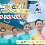 Vé máy bay đường bến Than Củ Chi TP Hồ Chí Minh
