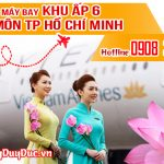 Vé máy bay khu ấp 6 Hóc Môn TP Hồ Chí Minh