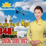 Vietnam Airlines ưu đãi vé máy bay đi Nga 340 usd