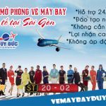Hướng dẫn mở phòng vé máy bay Quốc tế tại Sài Gòn