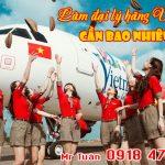 Làm đại lý hãng Vietjet Air cần bao nhiêu tiền