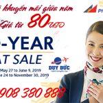 Ring vé khuyến mãi giữa năm Philipphines Airlines 80 USD