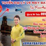 Tuyển đại lý vé máy bay cấp 2 tại Nam Định