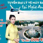 Tuyển đại lý vé máy bay cấp 2 tại Nghệ An (Vinh)