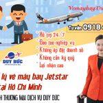 Tuyển đại lý vé máy bay Jetstar tại Hồ Chí Minh