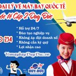 Tuyển đại lý vé máy bay quốc tế Cấp 2 Việt Mỹ