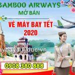 Hãng Bamboo Airways đã mở bán vé máy bay Tết 2020