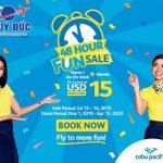 Cebu Pacific giảm giá vé máy bay đi Manila từ 15 USD