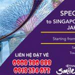 Thai Airways ưu đãi vé đi Singapore, Manila, Jakarta và Bali