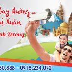 Vé máy bay đường Bùi Thị Xuân Dĩ An tỉnh Bình Dương – Việt Mỹ