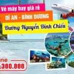 Vé máy bay đường Nguyễn Đình Chiểu Dĩ An tỉnh Bình Dương – Việt Mỹ