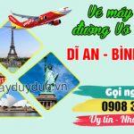 Vé máy bay đường Võ Thị Sáu Dĩ An tỉnh Bình Dương – Đại lý Việt Mỹ