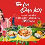 Bay đến Thái Lan thưởng thức ẩm thực với vé máy bay giá rẻ AirAsia