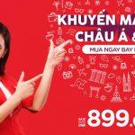 AirAsia khuyến mãi vé siêu rẻ bay khắp châu Á và Úc