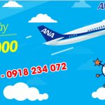 ANA mở bán khuyến mãi Hello Blue Sale trong 5 ngày