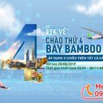 Chào thứ 4 Bamboo Airways ưu đãi vé máy bay giá từ 99k