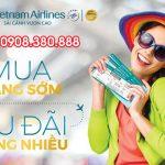 Vietnam Airlines khuyến mãi giá vé đầu tháng 8
