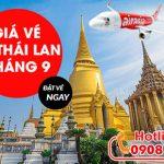 Giá vé máy bay đi Thái Lan tháng 9