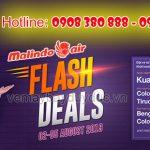Hãng Malindo Air khuyến mãi vé máy bay khứ hồi từ 83 USD
