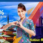 Malaysia Airlines ưu đãi giảm đến 25% giá vé trong vòng 72 giờ