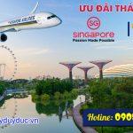 Singapore Airlines ưu đãi giá vé tháng 8