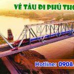 Vé tàu lửa đi Phú Thọ