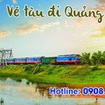 Vé tàu đi Quảng Trị trực tuyến