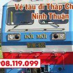 Vé tàu đi Ninh Thuận