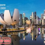 Singapore Airlines khuyến mãi vé khứ hồi TPHCM – Singapore