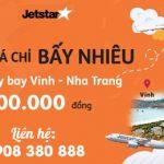 Jetstar mở bán combo chặng Vinh – Nha Trang giá ưu đãi